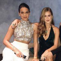 """Bruna Marquezine e Marina Ruy Barbosa fazem batalha de funk nos bastidores de """"Deus Salve o Rei"""""""