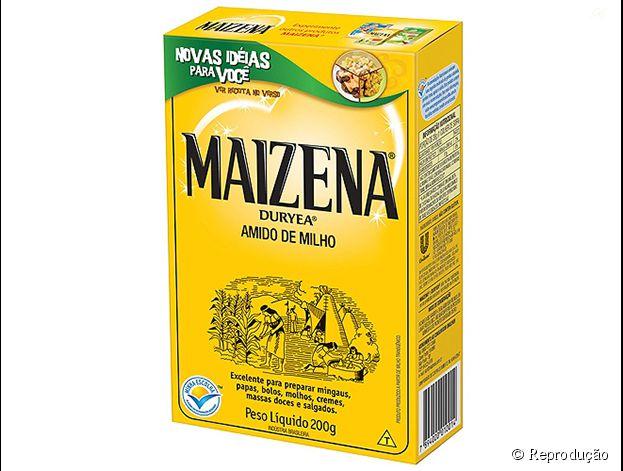 Maizena é uma marca de amido de milho