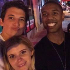"""Elenco de """"Quarteto Fantástico"""" faz selfie para comemorar fim das gravações"""