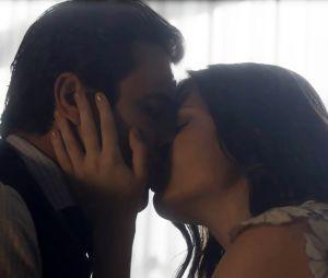 """Em """"Tempo de Amar"""", Maria Vitória (Vitória Strada) dá chance para Vicente (Bruno Ferrari)"""