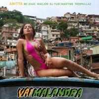 """Anitta divulga capa do single """"Vai Malandra"""" e fãs comemoram: """"Novo hino nacional"""""""