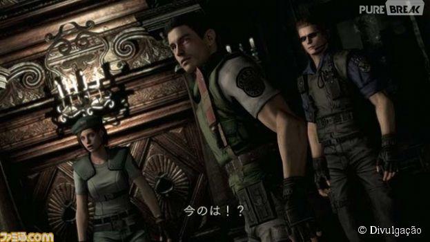 """Em """"Resident Evil Remastered"""": a aparência dos personagens remodelada"""