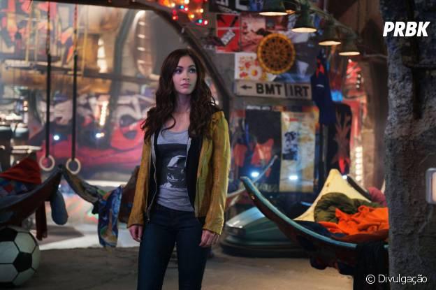 "Megan Fox vive a repórter April O'Neil em ""As Tartarugas Ninja"""