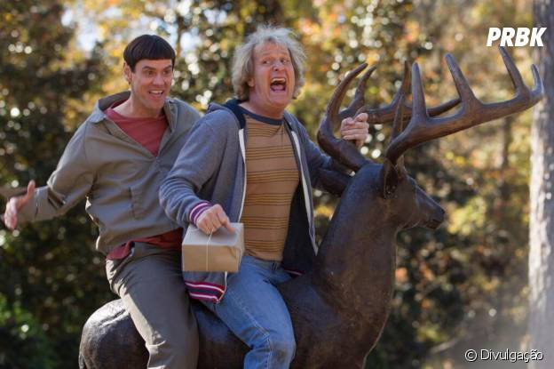 """Jim Carrey e Jeff Daniels estrelam novo filme da série """"Debi e Lóide"""""""