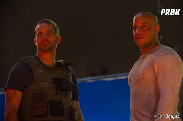 """Paul Walker e Vin Diesel estarão lado a lado pela última vez em """"Velozes e Furisos 7"""""""