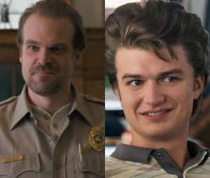 "De ""Stranher Things"": David Harbour quer ver Hopper e Steve (Joe Keery) mais próximos na 3ª temporada"