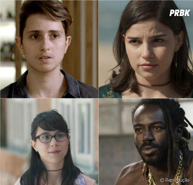 """De """"Malhação"""", """"A Força do Querer"""", """"Rock Story"""" e mais: 13 atores que se destacaram na TV esse ano!"""