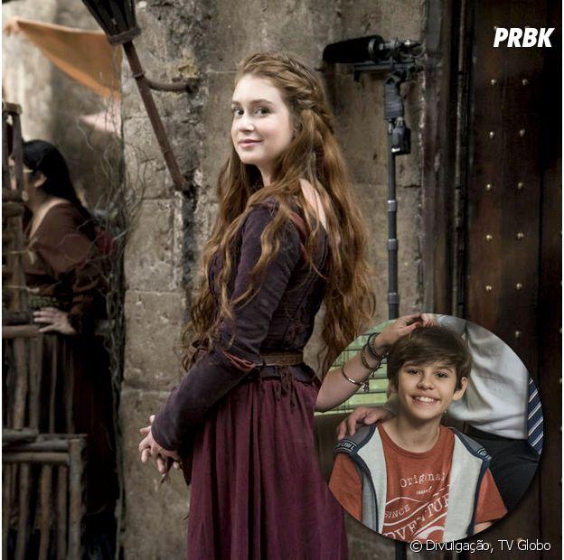 """Marina Ruy Barbosa vai participar do final de """"Pega Pega"""" como a Amália, de """"Deus Salve o Rei"""""""
