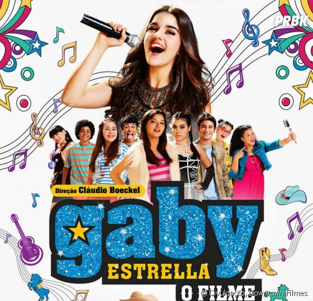 """""""Gaby Estrella - O Filme"""" conta a história da jovem que sonha em ser uma cantora famosa"""