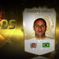 """No game """"Fifa 15"""": Roberto Carlos e Valderrama fazem parte do """"Time de Lendas"""""""