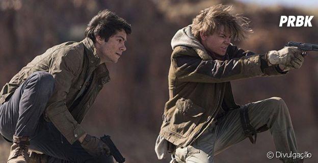 """Em """"Maze Runner: A Cura Mortal"""", além de Dylan O'Brien na pele de Thomas, o jovem Newt, interpretado por Thomas Sangster, também se destaca"""