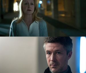 "Os vilões de ""Maze Runner: A Cura Mortal"", Ava Paige (Patrícia Clarkson) e Jason (Aiden Gillan) são fracos"