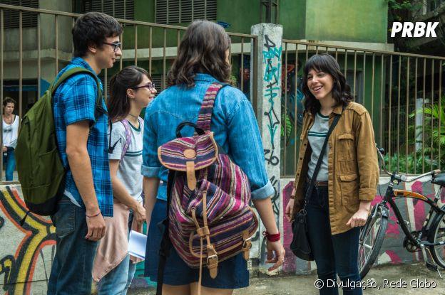 """Lica (Manoela Aliperti) foi a última aluna a entrar no Cora Coralina, em """"Malhação"""""""