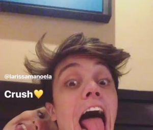 "Leo Cidade chama Larissa Manoela de ""crush"" no Instagram"