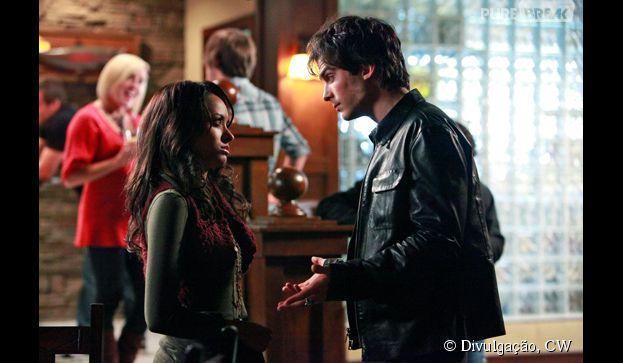 "Produtora revela detalhes sobre Damon (Ian Somerhalder) e Bonnie (Katerina Graham), em ""The Vampire Diaries"""