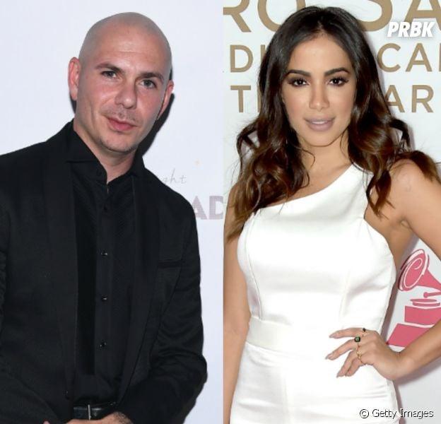Anitta e Pitbull podem fazer parceria e cantor confirma que está em negociação