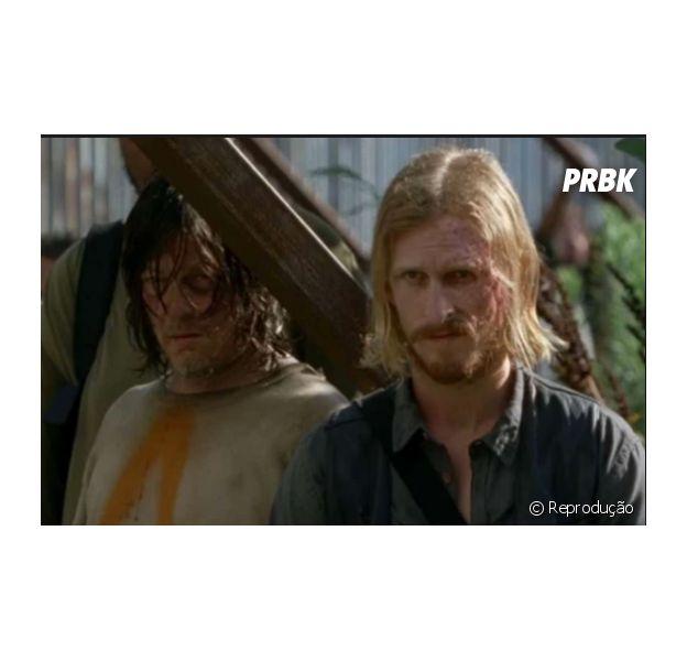 """Em """"The Walking Dead"""", Daryl e Dwight terão relação explorada na série"""