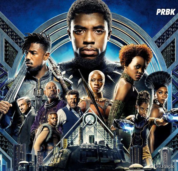 """""""Pantera Negra"""" supera """"Os Vingadores"""" e se torna o filme da Marvel com maior arrecadação na sua primeira semana!"""