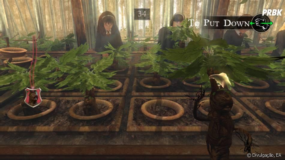 """Antes do jogo """"Animais Fantásticos e Onde Habitam"""" foi lançadoHarry Potter for Kinect, em 2011"""