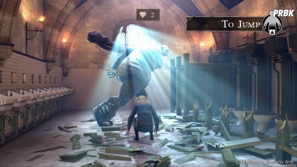 Os jogos do universo do bruxinho Harry Potter foi lançado em 2011