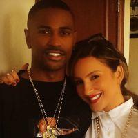 Claudia Leitte posta foto com rapper Big Sean e deixa fãs curiosos