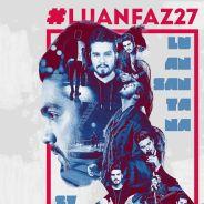 """Luan Santana completa 27 anos e fãs fazem homenagens: """"O melhor cantor do Brasil"""""""