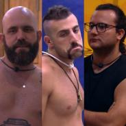 "No ""BBB18"", Diego, Caruso e Kaysar reforçam aliança após Patrícia ser eliminada: ""Vamos jogar"""