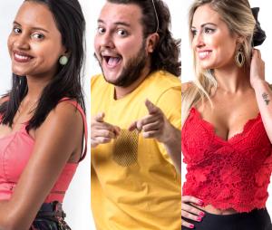"""Diego, Gleici e Jéssica formaram o Paredão recorde de votos do """"BBB18"""" até agora"""