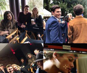 """De """"Pretty Little Liars: The Perfectionists"""": atores posam juntos e comemoram fim das gravações do episódio piloto"""