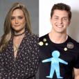 """Juliana Paiva e Klebber Toledo serão os protagonistas de """"O Tempo Não Para"""", nova novela das 19h da Globo que estreia dia 31 de julho"""