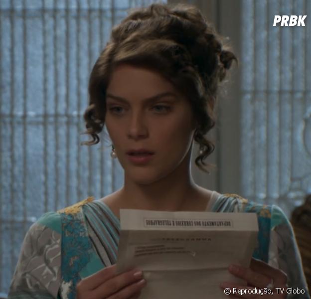 """""""Vem pra colocar lenha na fogueira"""", diz Isabella Santoni, após estrear como Charlotte em """"Orgulho e Paixão"""""""