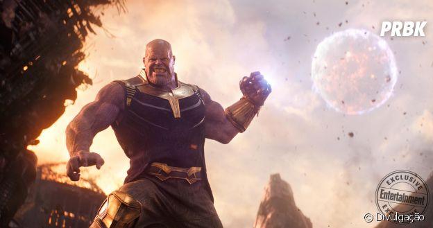 """Thanos (Josh Brolin) é o maior vilão de """"Vingadores: Guerra Infinita"""""""