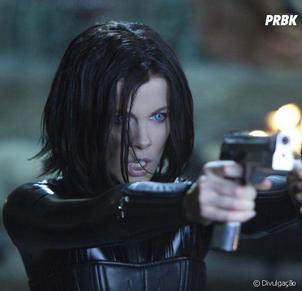 """Kate Beckinsale protagoniza os quatro filmes da franquia """"Anjos da Noite"""""""