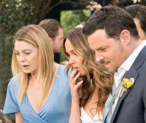 """Em """"Grey's Anatomy"""", casamento de Jo (Camilla Luddington) e Alex (Justin Chambers) pode sair do controle!"""