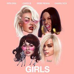 "Rita Ora, Cardi B, Charli XCX e Bebe Rexha lançam ""Girls"", novo single com lyric video!"