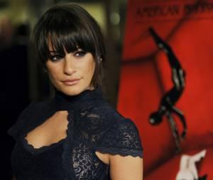 "Lea Michele, de ""Glee"", esteve na festa de lançamento de ""American Horror Story: Murder House"""