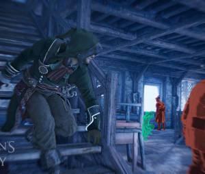 """Uma imagem do gameplay de """"Assassin's Creed Unity"""""""