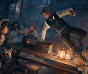 """Em """"Assassin's Creed Unity"""": uma das cenas do jogo"""