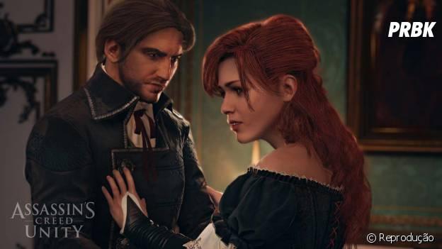 """Em """"Assassin's Creed Unity"""": a polêmica personagem Elise que pode ser o par de Arno"""
