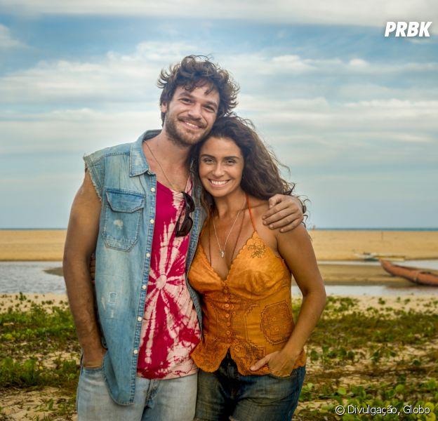 """Em """"Segundo Sol"""", Luzia (Giovanna Antonelli)vai descobrir que Miguel na verdade é Beto (Emilio Dantas)"""