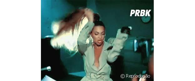 Beyoncé tem uma das melhores jogadas de cabelo
