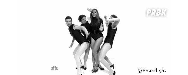 Beyoncé se divertiu no Saturday Night Live