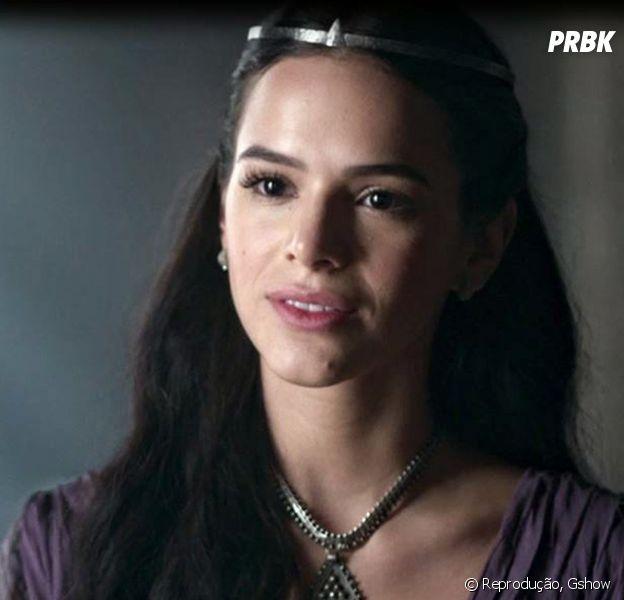 """Catarina (Bruna Marquezine) transa com Otávio (Alexandre Borges) e fica grávida em """"Deus Salve o Rei"""""""