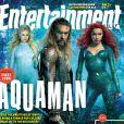 """Filme """"Aquaman"""" ganha imagens inéditas com os personagens principais"""