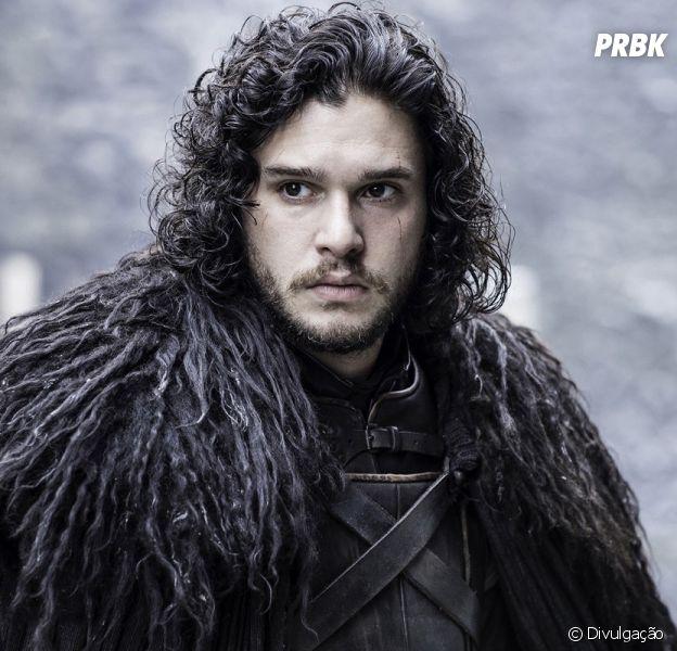 """Kit Harington, de """"Game of Thrones"""", diz que vai abandonar o cabelo de Jon Snow"""