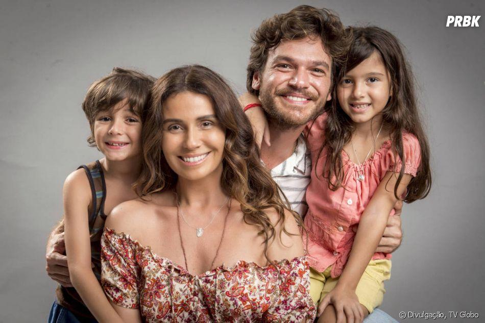 """Em """"Segundo Sol"""", Luzia vivia com os dois filhos e Miguel em Boiporã nos anos 90"""