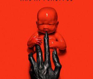 """Meio creepy esse bebê do poster da 8ª temporada de """"American Horror Story"""", né?"""