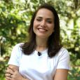 """Letícia Colin, a Rosa de """"Segundo Sol"""", participa do """"Mais Você"""" e elogia colegas de novela"""