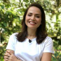 """Leticia Colin, de """"Segundo Sol"""", elogia Chay Suede no """"Mais Você"""": """"Fico encantada com as cenas"""""""