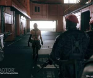 """Na Gameplay Quiet ajuda Solid Snake em a completar sua missão, no game """"Metal Gear V: The Phantom Pain"""""""